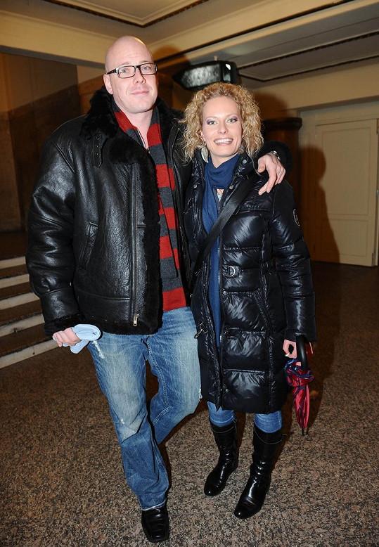 Dítě čeká Kristina s bývalým tanečníkem a choreografem Karlem Moravcem