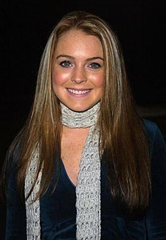 Lindsay jako šestnáctiletá slečna.