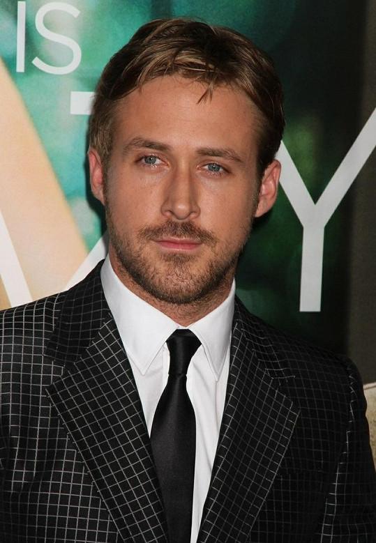 Kanadský herec Ryan Gosling.