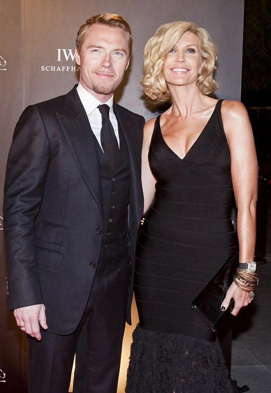 Ronan Keating s Yvonne Connolly.