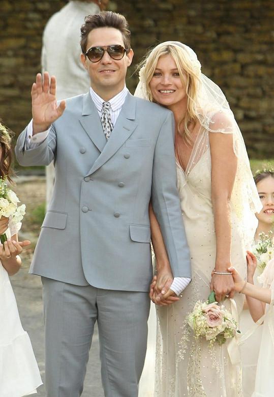 Kate Moss a Jamie Hince.