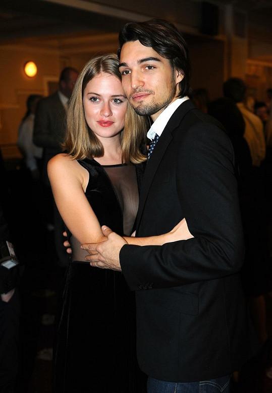 Emma na Slavících s přítelem Jordanem