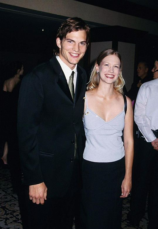 Ashton Kutcher s herečkou January Jones.