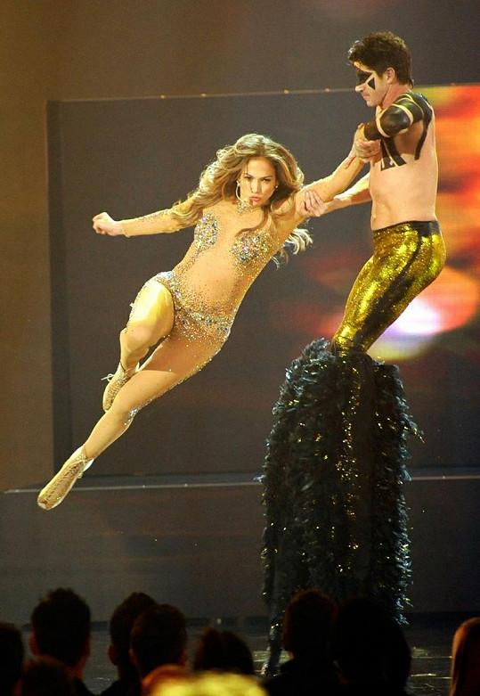 Jennifer předvedla výbornou show.