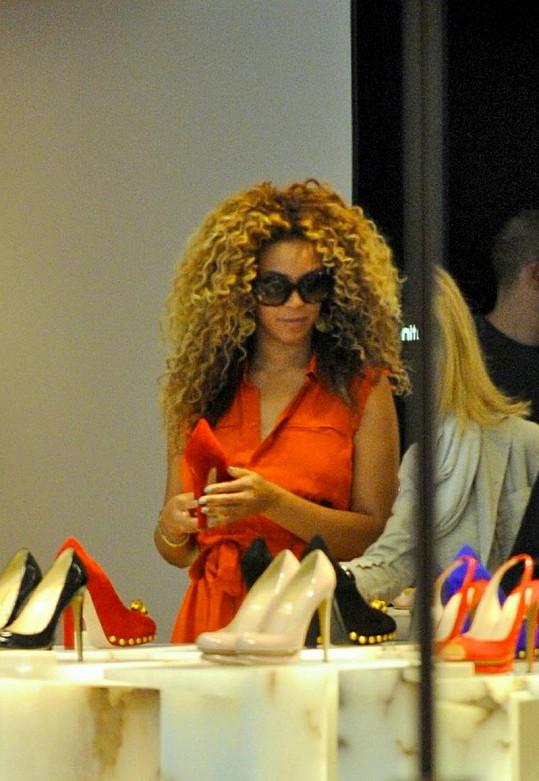 Beyoncé nakupuje jako Pretty Woman.