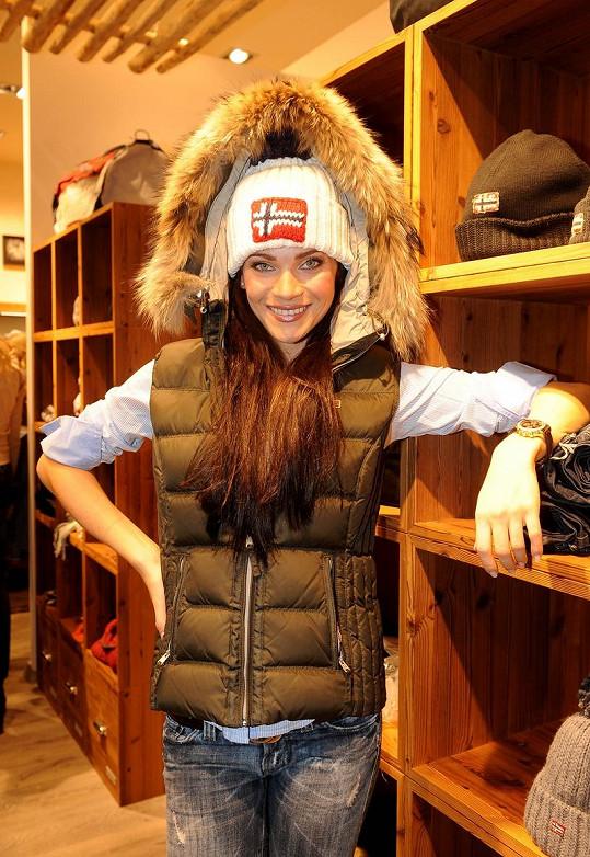Andrea Verešová je milovnicí zimních sportů.