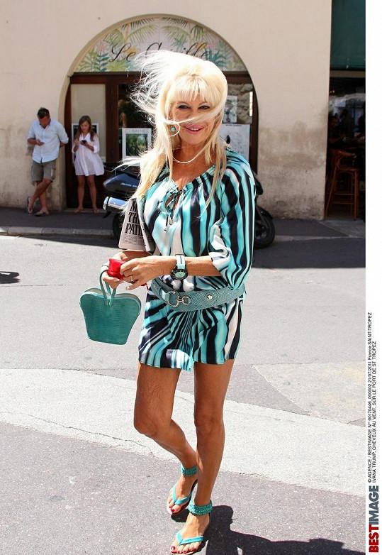 Ivana Trump je proslulá výraznými outfity.