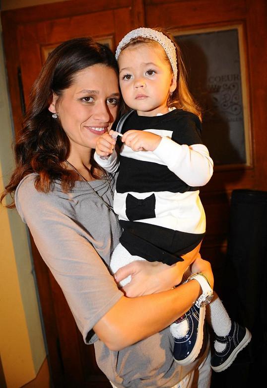 Petra Faltýnová s dcerou Adrianou.