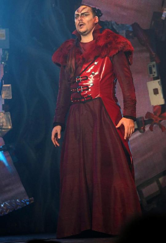 Marián Vojtko jako král upírů Kelo.