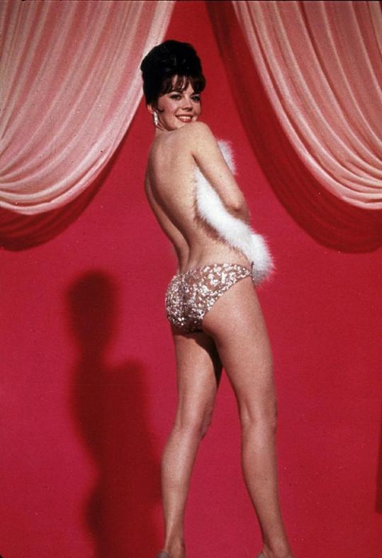 Natalie Wood se před kamerou nestyděla.