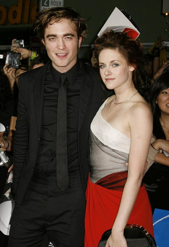 Kristen Stewart a Robert Pattinson.