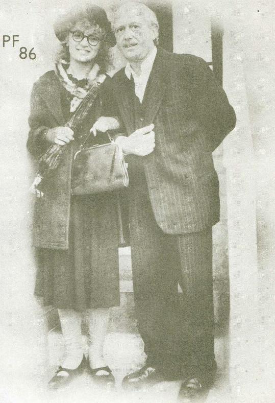 S Petrem Jandou jako důchodci.