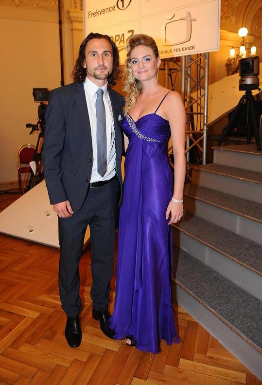 Petr Jiráček s přítelkyní Lindou.