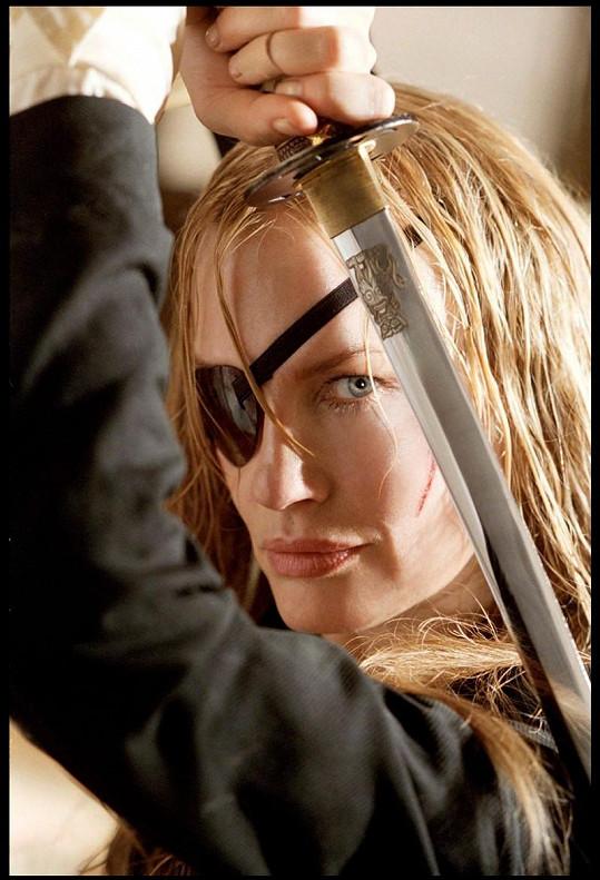 Hannah se blýskla v Kill Bill i Kill Bill 2 od Tarantina.