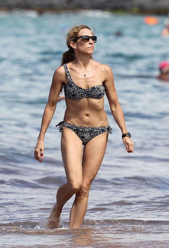 Americká zpěvačka na dovolené na Maui.