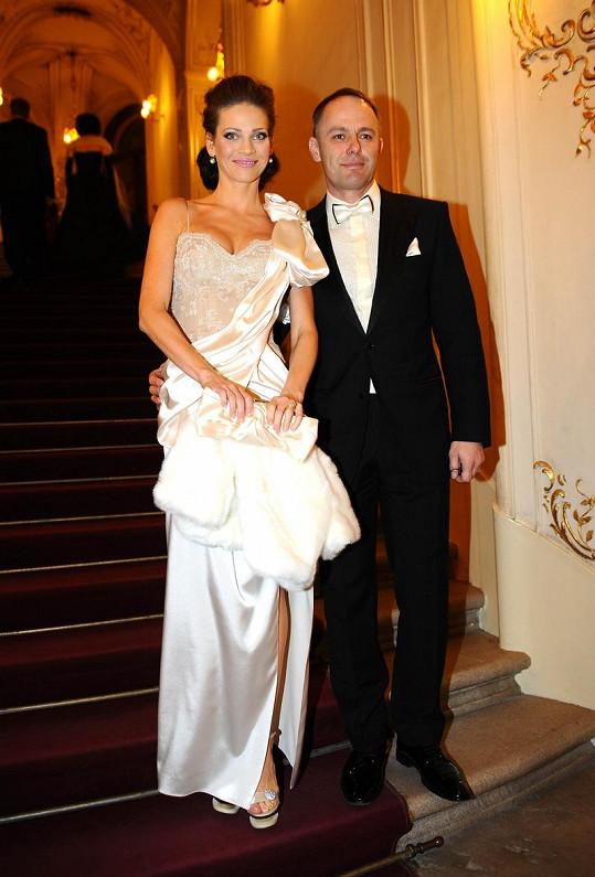 Andrea Verešová s manželem Danielem Volopichem.