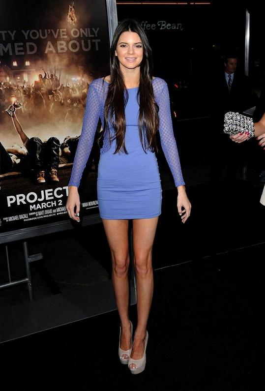 Půvabná Kendall pracuje na kariéře modelky. K jejím největším úspěchům patří fotografie na obálce časopisu TeenVogue.