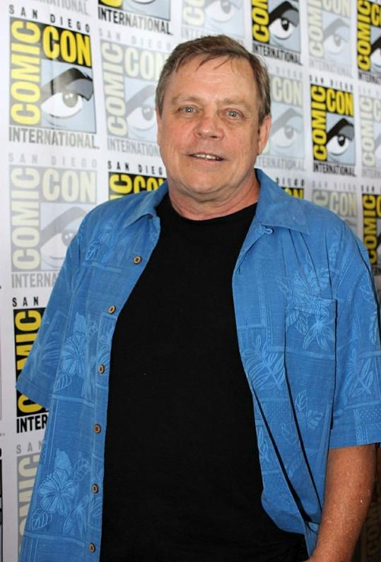 Mark na tiskové konferenci Comic Con 2012.