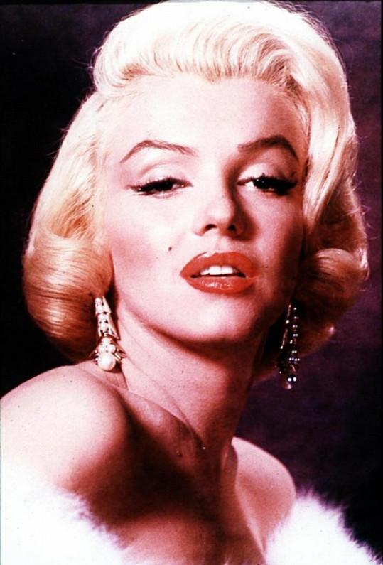 Legendární Marilyn Monroe.