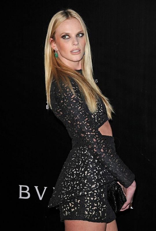 Anna Vjalicyna byla v Beverly Hills středem pozornosti.