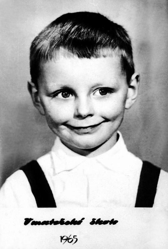 Petr Sepeši v pěti letech.