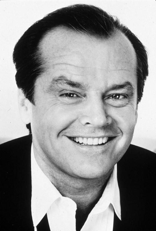 Herec Jack Nicholson.