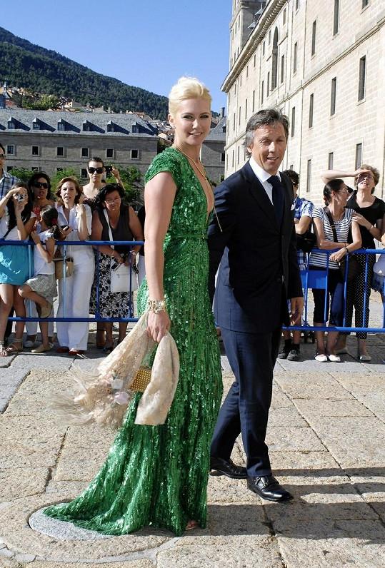 Valeria Mazza s manželem Alejandrem Gravierem.