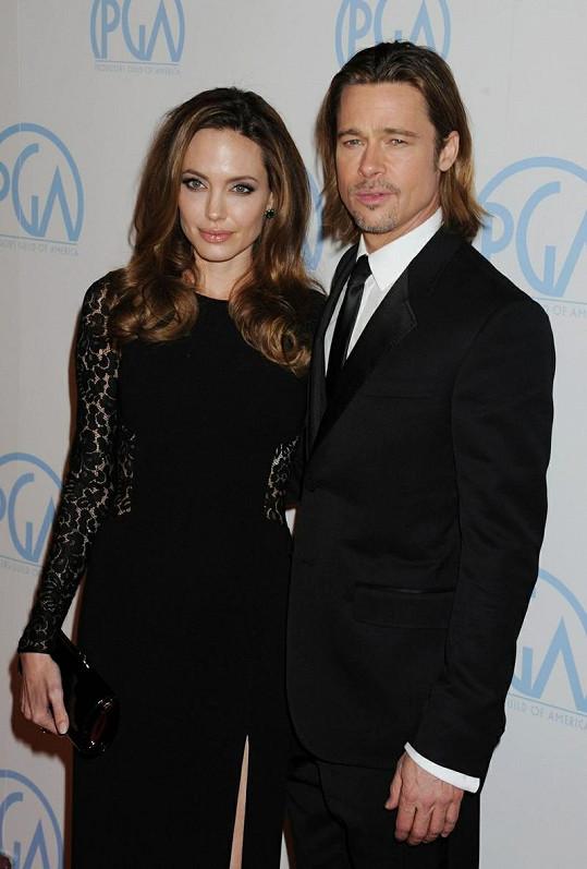 Brad Pitt a jeho Angelina.