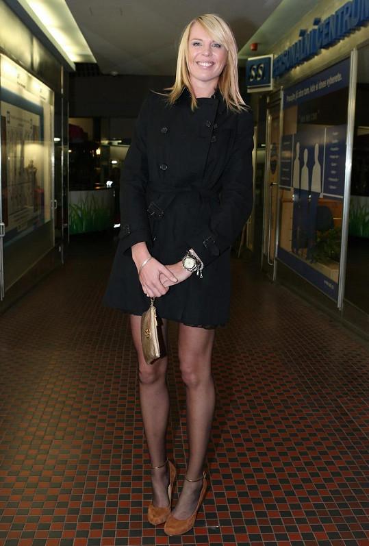 Nejdelší nohy ukázala Diana Kobzanová.