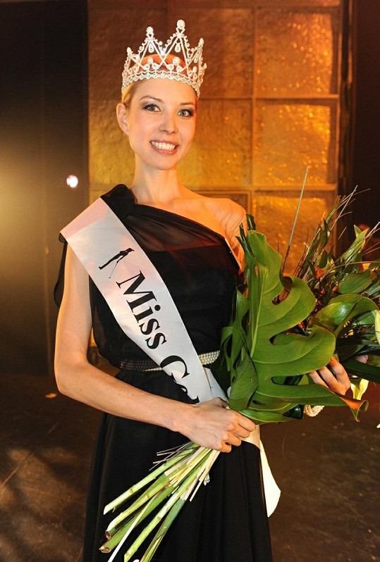 Miss Golf Kateřina Částková.