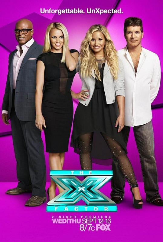 Zpěvačka zasedá v porotě soutěže X Factor.