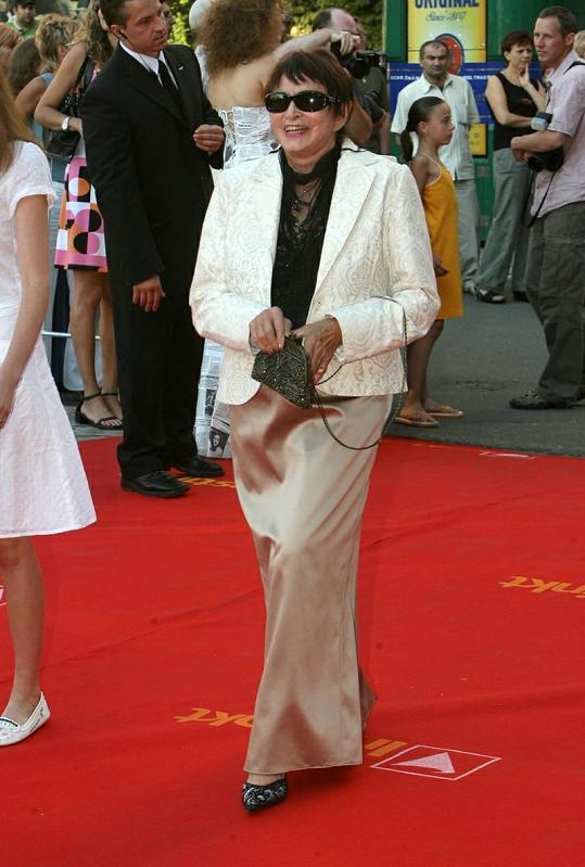 Režisérka v plné síle předloni na festivalu v Karlových Varech.