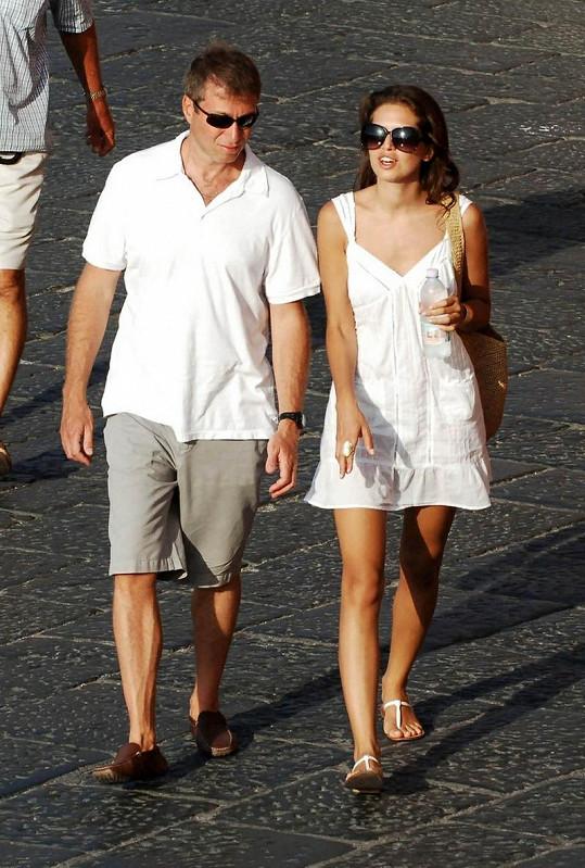 Roman Abramovič s přítelkyní Dariou Zhukovou.