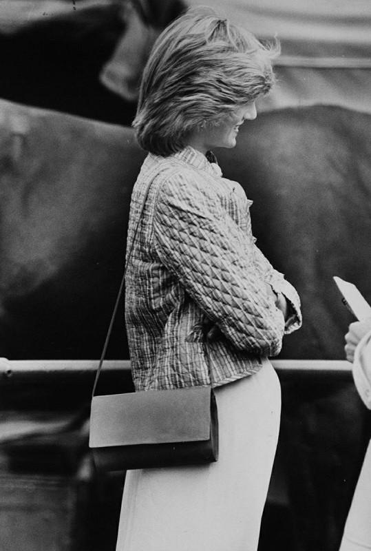 Lady Diana v roce 1982, kdy čekala Williama.