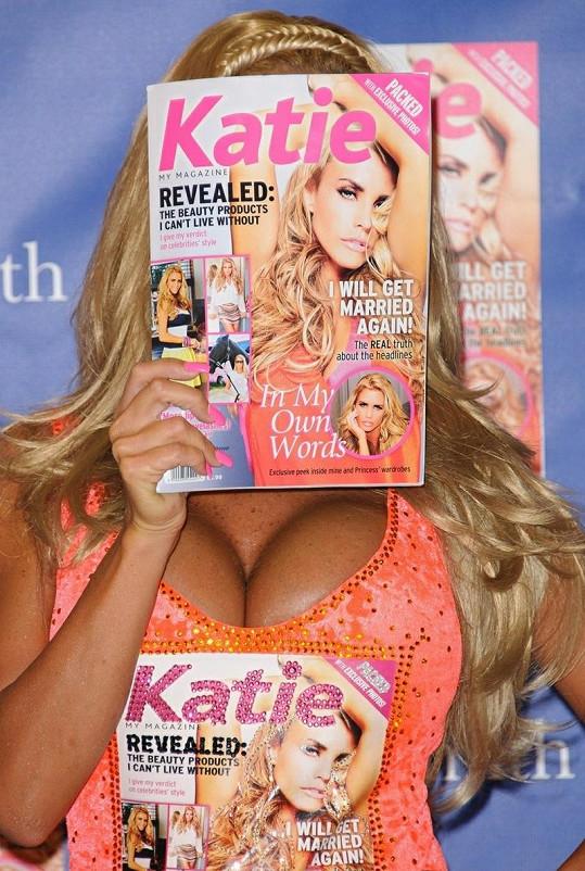 Časopis s názvem Katie ukáže modelčin život z jejího pohledu.