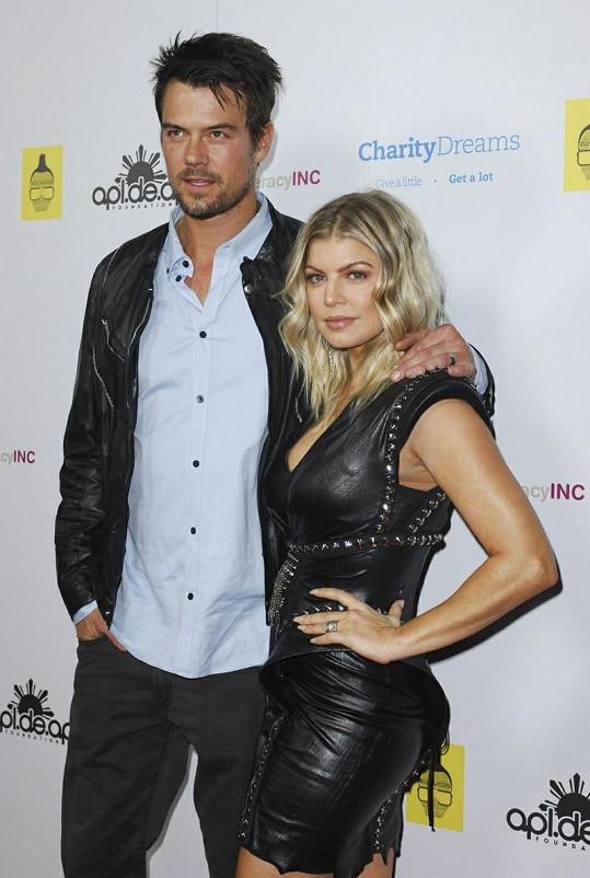 Fergie a její manžel Josh Duhamel.