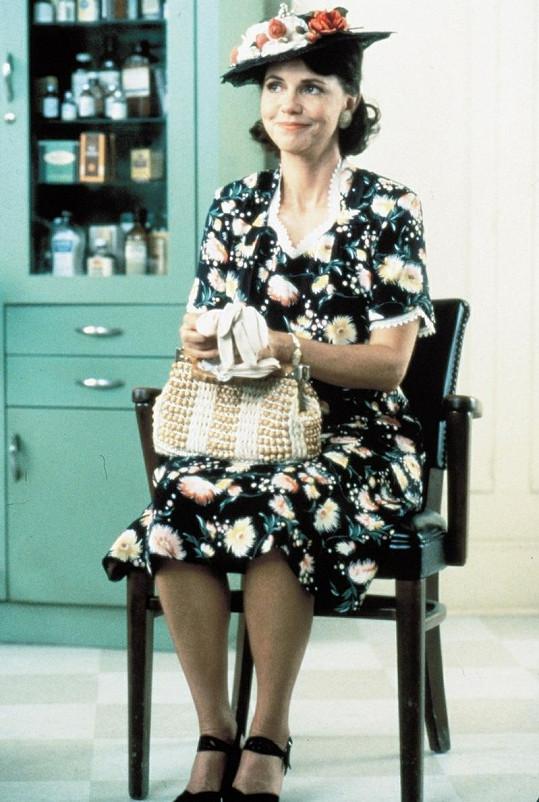 Sally na snímku z filmu Forrest Gump.