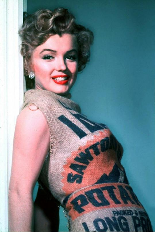 Novináři měli pravdu: Marilyn vypadala skvěle i v pytli.