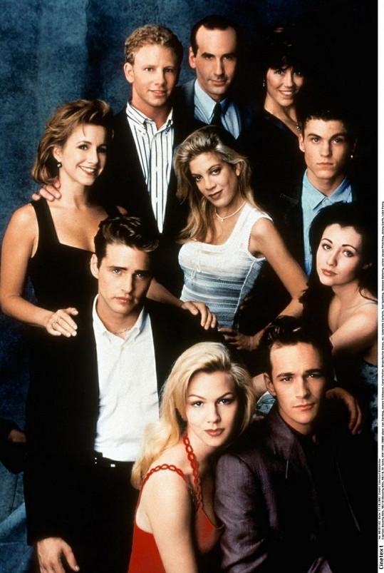 Hrdinové seriálu Beverly Hills 902 10.