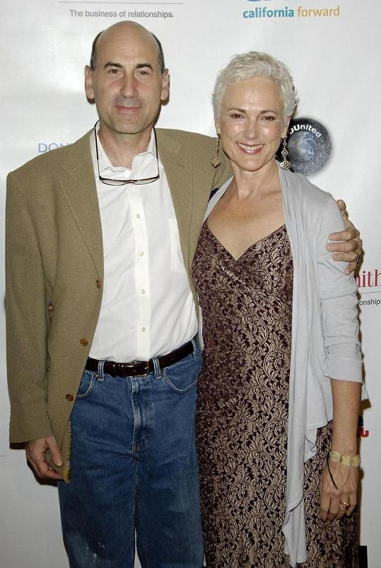 James Eckhouse s manželkou Sheilou.