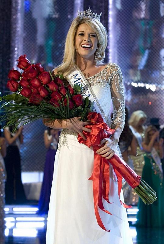 Dojatá Miss America 2011.