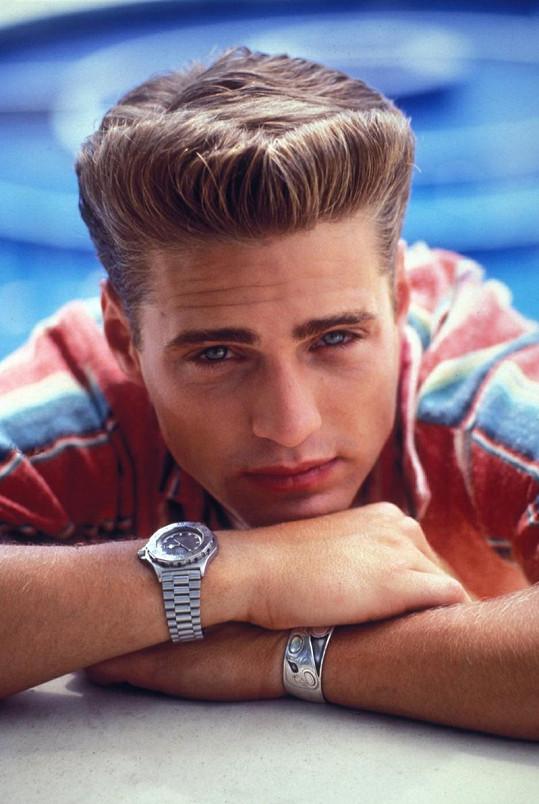 Takhle Jason vypadal v roli Brandona Walshe v roce 1996.