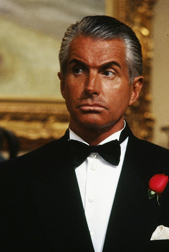 George Hamilton ve filmu Once Upon a Crime.