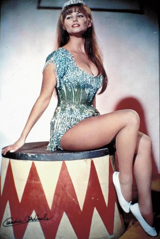 Claudia Cardinale v dobách své největší slávy.