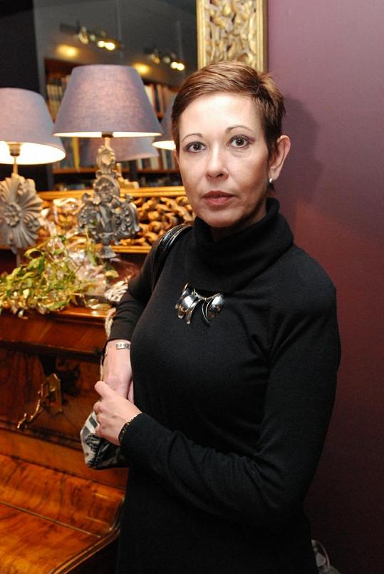 Marta Krampolová přiznala, že ji posílá žena jejího exmanžela sprosté esemesky.