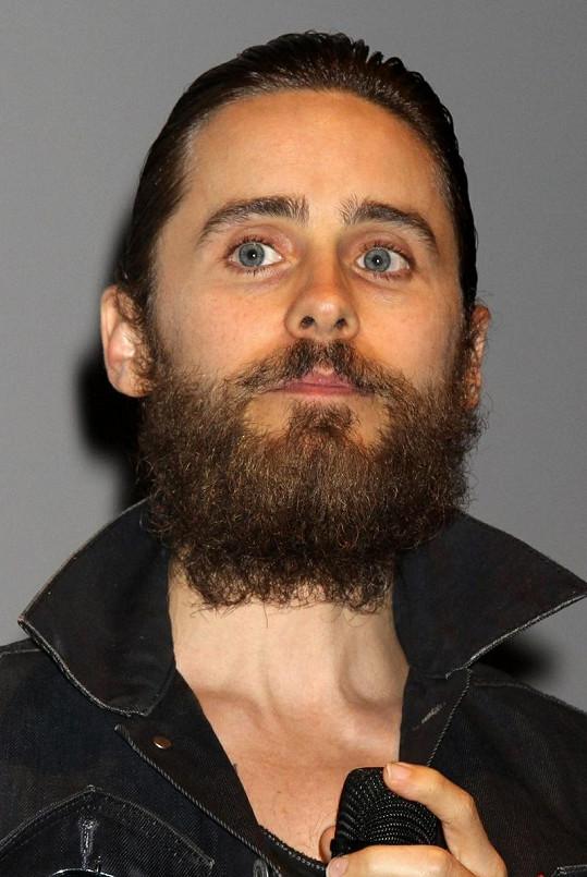 Jared Leto k nepoznání.