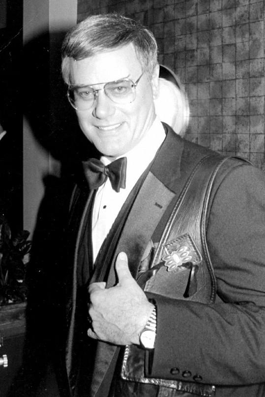 Larry Hagman měl obrovské charisma.