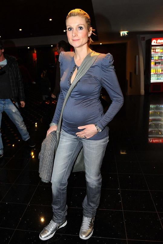 Magda Korcová čeká druhé dítě.