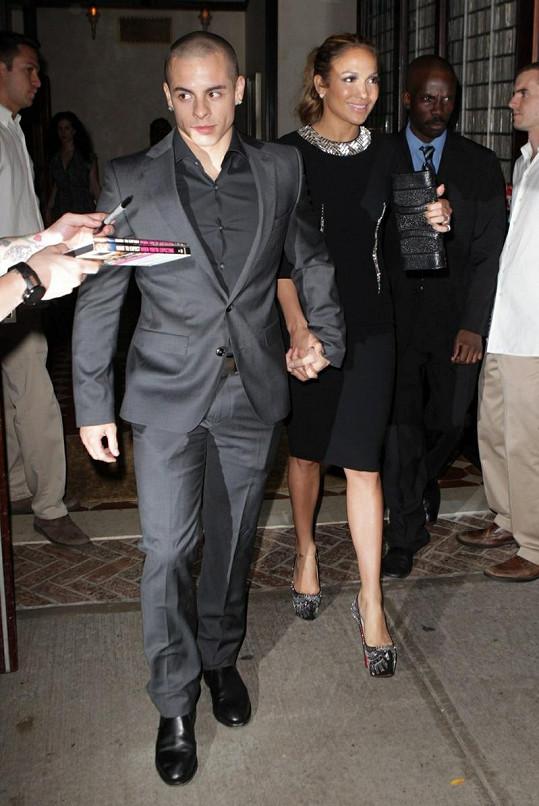 J-Lo se svým přítelem.