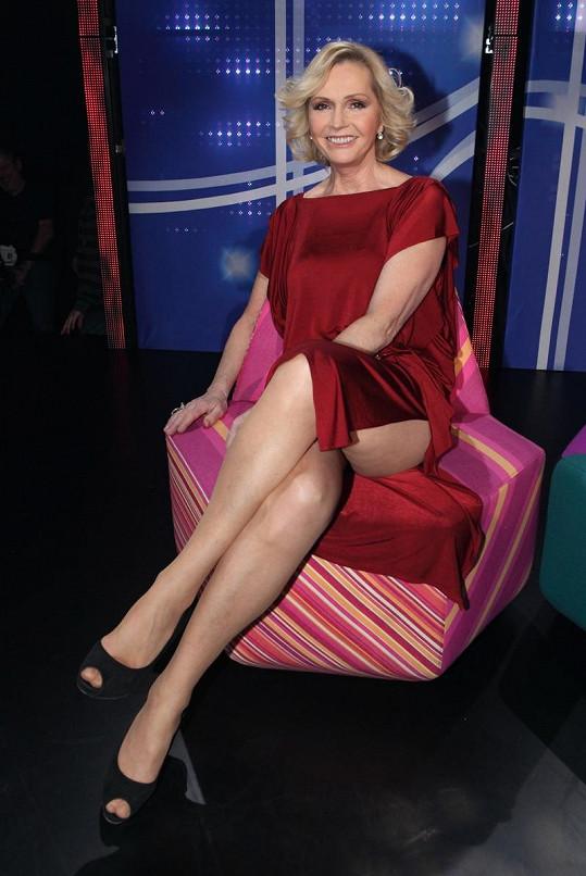 Helena Vondráčková vypadá na svůj věk fantasticky.